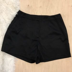 Finders Keepers Black High Waist Shorts Size M